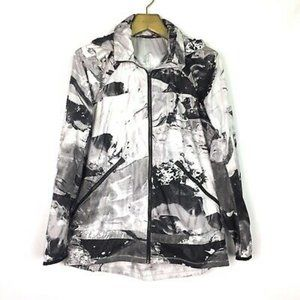 Lululemon Miss Misty Marble Rain Jacket